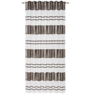 GARDINLÄNGD - mullvadsfärgad/gråbrun, Lifestyle, textil (140/245cm) - Esposa