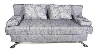 TROSJED SOFA - bijela/crna, Design, tekstil (200/85/100cm) - BOXXX