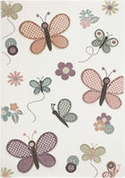 KINDERTEPPICH 80/150 cm - Multicolor, Design, Textil (80/150cm) - BEN'N'JEN