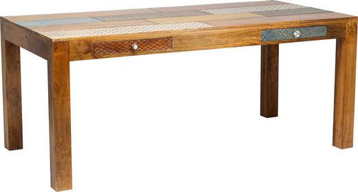 ESSTISCH Mangoholz massiv rechteckig Multicolor - Multicolor, Design, Holz (180/90/77cm) - Kare-Design
