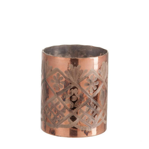 WINDLICHT, 13/15 D/H - Bronzefarben, Trend, Glas (13/15cm)