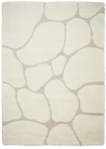 KOBEREC S VYSOKÝM VLASEM, 80/150 cm, bílá - bílá, Trend, textil/umělá hmota (80/150cm) - Novel