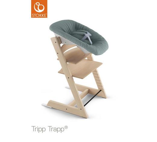 HOCHSTUHLEINLAGE Tripp Trapp - Jadegrün, Trend, Textil (40/6/26cm) - Stokke