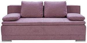 SCHLAFSOFA in Textil Beere  - Chromfarben/Beere, MODERN, Kunststoff/Textil (200/100/97,5cm) - Carryhome