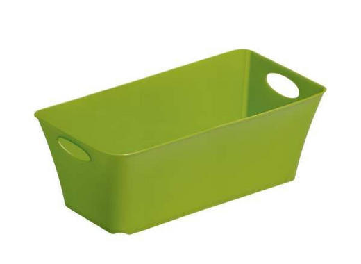 Living Box 2,0L Kunststoff Grün - Grün, Basics, Kunststoff (25.2/13.4/9cm)