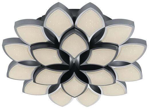 LED-DECKENLEUCHTE - Hellgrau/Grau, KONVENTIONELL, Metall (65/10,5cm)