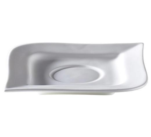 PODŠÁLEK NA ESPRESSO, porcelán (new bone china) - bílá, Design, keramika (11/11/1cm) - Ritzenhoff Breker