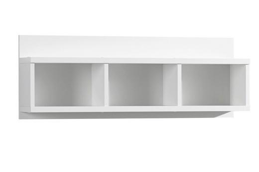 WANDBOARD Weiß - Weiß, KONVENTIONELL (91/34/20cm) - Xora