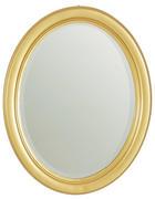 OGLEDALO - boje zlata, Lifestyle, staklo/drvo (36/46/3cm) - Xora