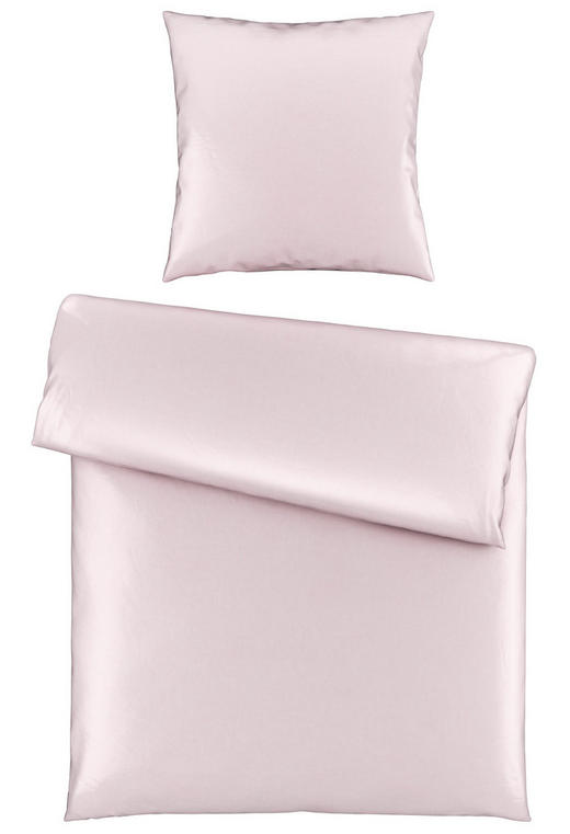 BETTWÄSCHE Satin Rosa 155/220 cm - Rosa, Basics, Textil (155/220cm) - Novel