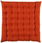 SITZKISSEN  - Orange, Basics, Textil (38/38cm) - Novel