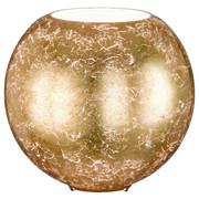 LAMPA STOLNÍ - barvy zlata, Lifestyle, kov/sklo (28/27,5cm)