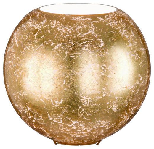 TISCHLEUCHTE - Goldfarben, LIFESTYLE, Glas/Metall (28 27,5 cm)