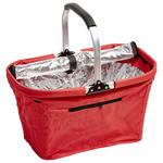 EINKAUFSKORB - Rot, Basics, Kunststoff/Metall (50/27/27cm) - Boxxx