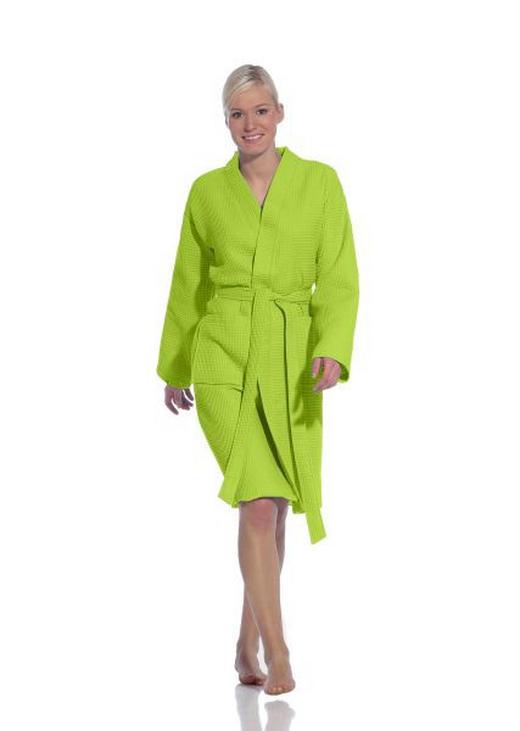 BADEMANTEL  Grün - Grün, Basics, Textil (XL) - VOSSEN