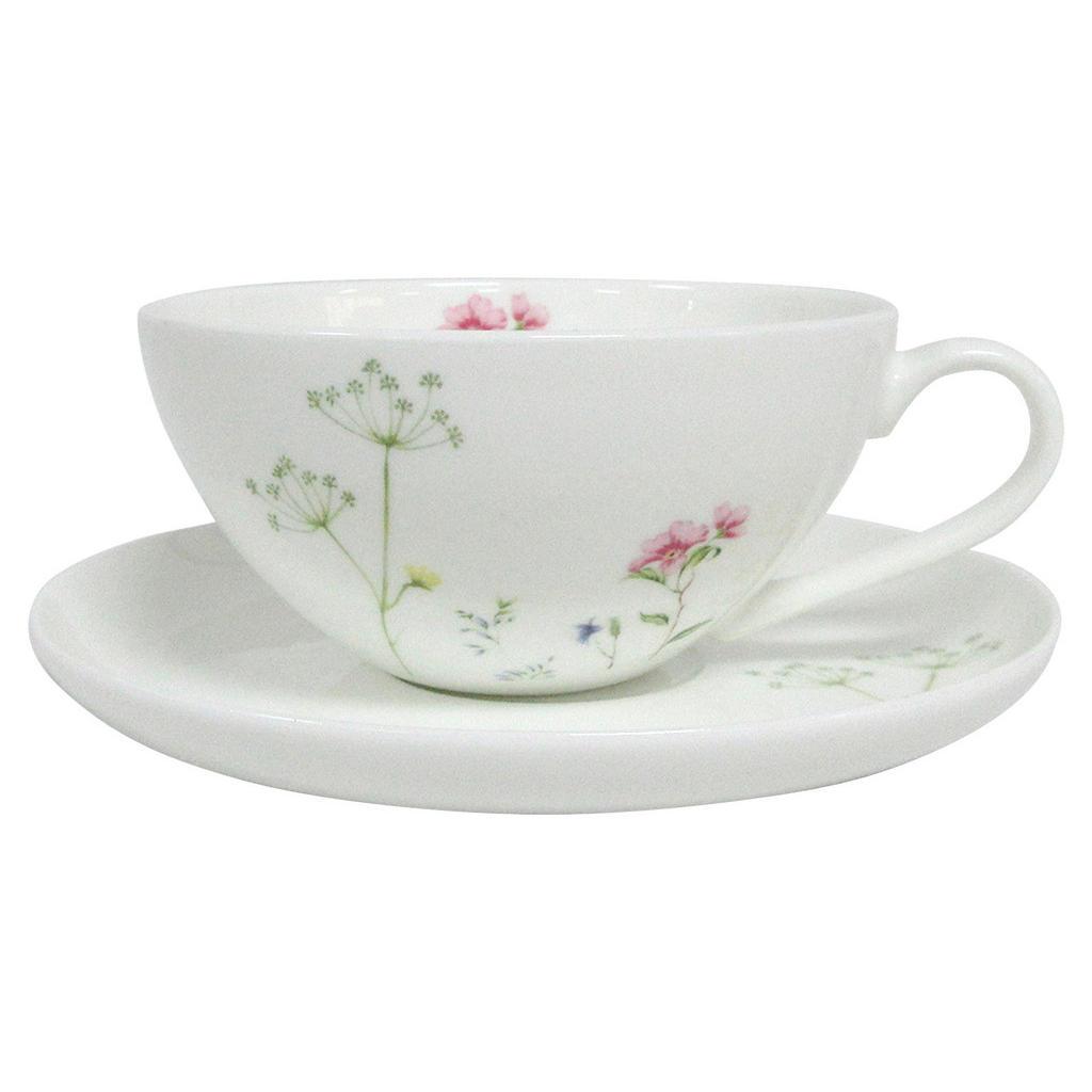 Novel Teetasse mit untertasse wildflower