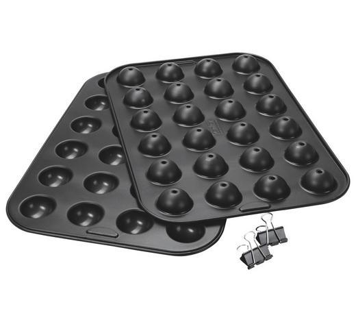 CAKE POP-FORM - Schwarz, Basics, Metall (45/27/4cm) - Zenker