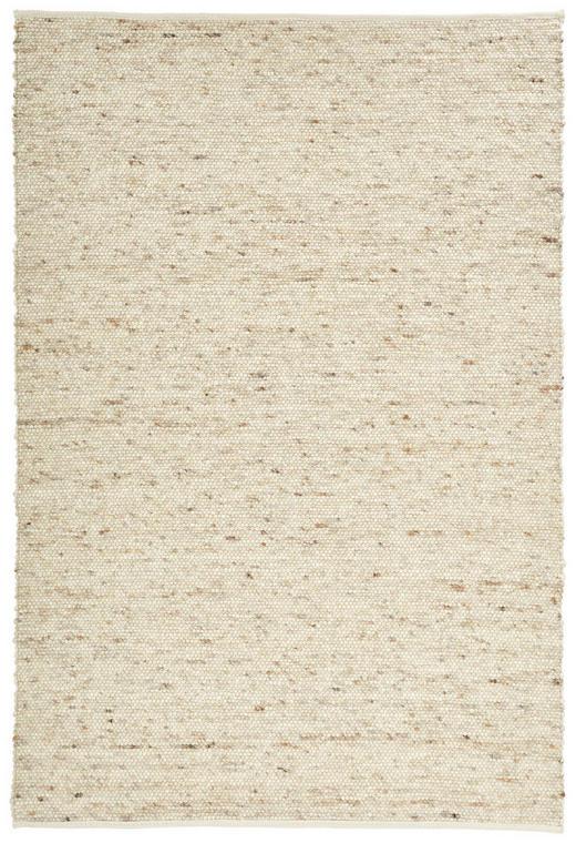 HANDWEBTEPPICH  90/160 cm  Weiß - Weiß, Basics, Textil/Weitere Naturmaterialien (90/160cm) - Linea Natura