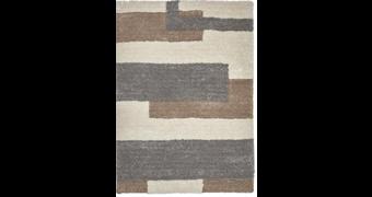 KOBEREC S VYSOKÝM VLASEM, 160/230 cm, béžová - béžová, Design, textil (160/230cm) - Novel