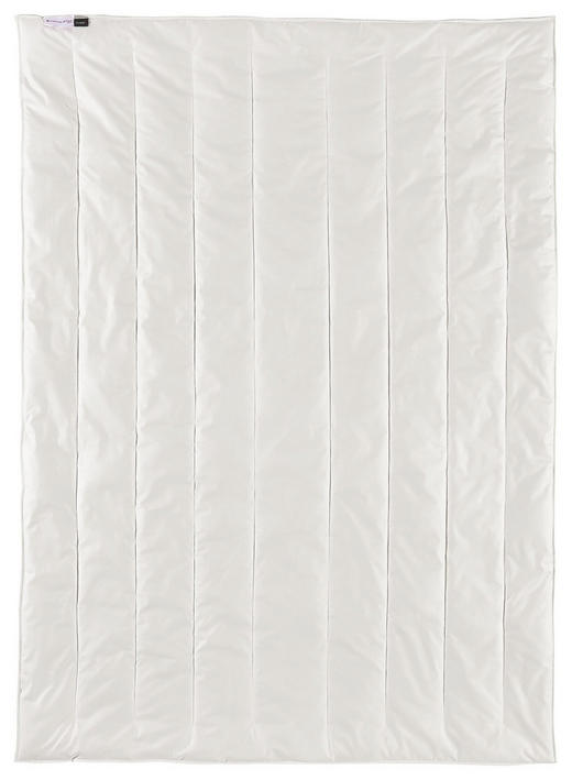 SOMMERBETT  155/220 cm - Weiß, Textil (155/220cm) - CENTA-STAR