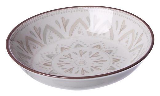 SCHALE 10 cm - Creme/Braun, KONVENTIONELL, Keramik (10cm) - Ritzenhoff Breker