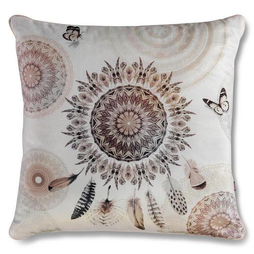 ZIERKISSEN 48/48 cm - Sandfarben, LIFESTYLE, Textil (48/48cm)