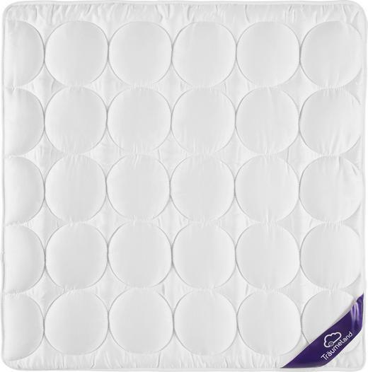 BABYDECKE 80/80 cm - Weiß, Basics, Textil (80/80cm) - Träumeland