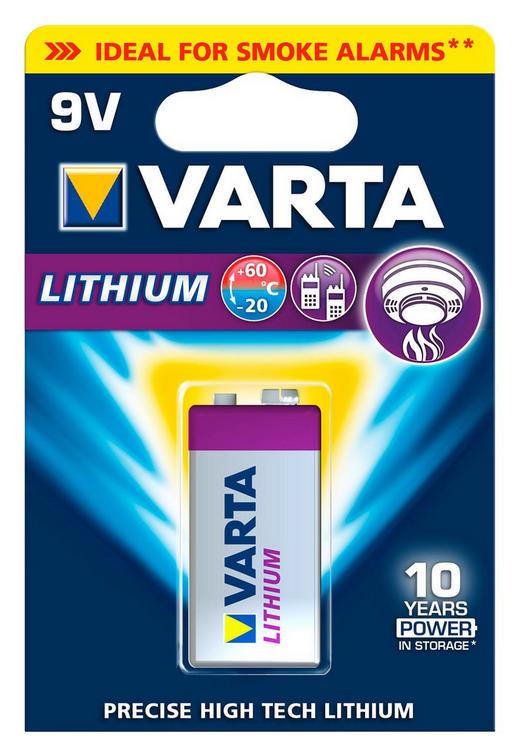 BATTERIE - Basics (8/12/1.9cm) - Varta