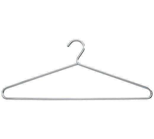 KLEIDERBÜGEL Metall Chromfarben  - Chromfarben, Design, Metall (42/18cm) - Boxxx