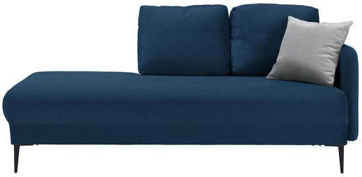 LIEGE in Textil Dunkelblau - Schwarz/Dunkelblau, MODERN, Textil (190/85/88cm) - Carryhome
