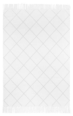 WEBTEPPICH  Creme, Weiß  140/200 cm - Creme/Weiß, Textil (140/200cm)