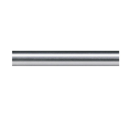 TYČ KULATÁ, 120 cm - barvy nerez oceli, Basics, kov (120cm) - Homeware