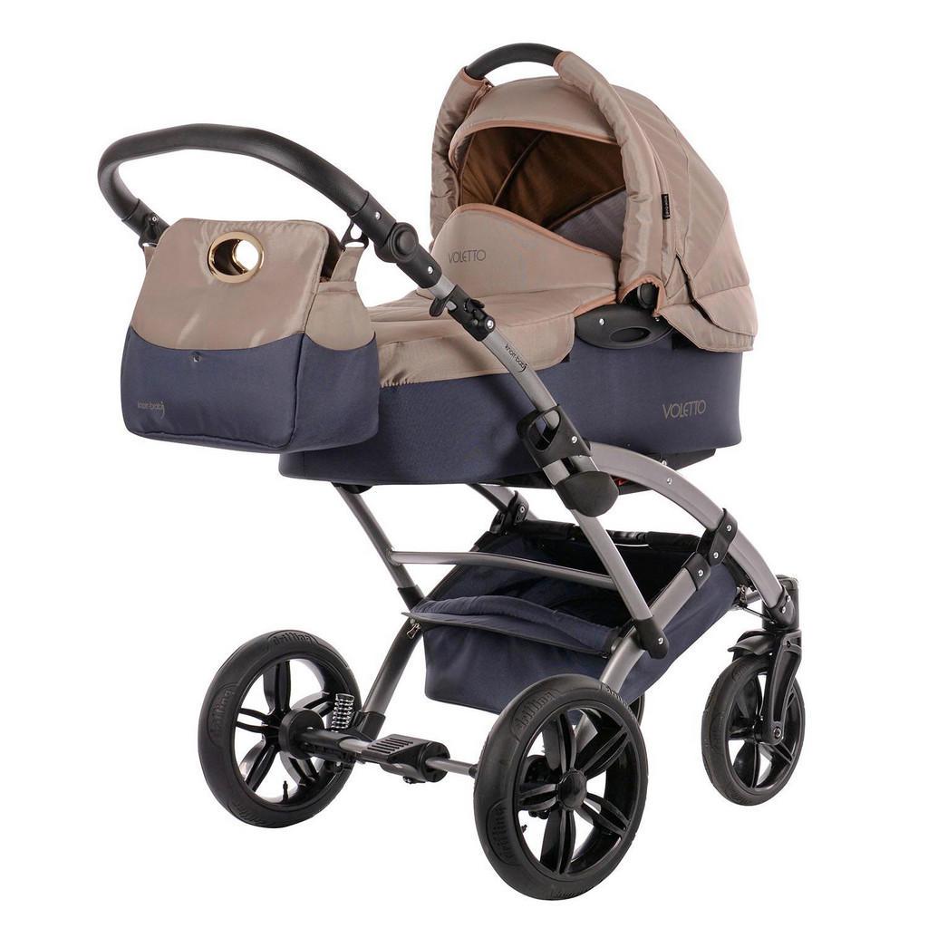 Sportkinderwagen in Grau & Sand von Knorr-Baby