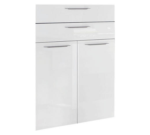 FRONT 75/105/1,8 cm Weiß  - Bronzefarben/Weiß, Design, Metall (75/105/1,8cm) - Carryhome