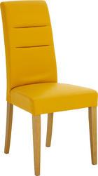 STOLICA - boje hrasta/žuta, Konvencionalno, drvo/tekstil - Celina Home