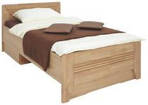 BETT 120 cm   x 200 cm   in Holz, Holzwerkstoff Eichefarben - Eichefarben, KONVENTIONELL, Holz/Holzwerkstoff (120/200cm) - Venda