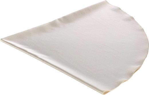 TISCHDECKE Textil Creme 180 cm - Creme, Textil (180cm)