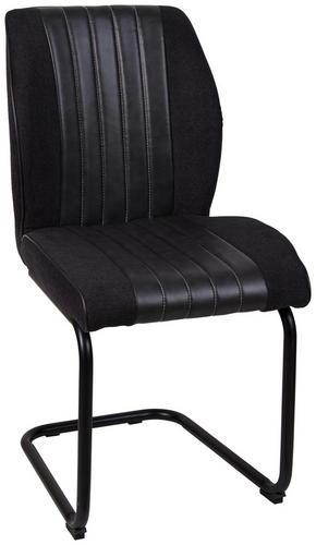 SVIKTSTOL - mörkgrå/svart, Design, metall/textil (49/90/59,5cm) - Ti`me