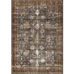 VINTAGE-TEPPICH Djubi Antique  - Braun, LIFESTYLE, Textil (130/190cm) - Novel