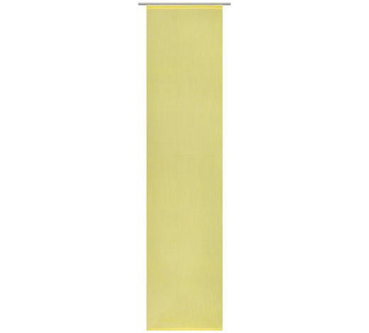 ZÁVĚS PLOŠNÝ, 60/255 cm - žlutá, Design, textil (60/255cm) - Novel