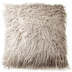 FELLKISSEN  - Taupe, Trend, Textil (45/45cm) - Ambia Home