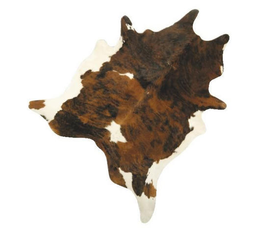 KŮŽE HOVĚZÍ - černá/hnědá, Natur, textil/kůže (2-4,5qm) - Linea Natura