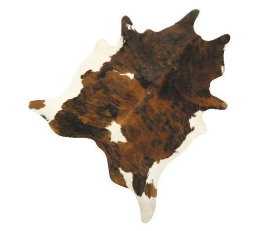 KŮŽE HOVĚZÍ - černá/hnědá, Natur, textilie/kůže (2-4,5qm) - Linea Natura
