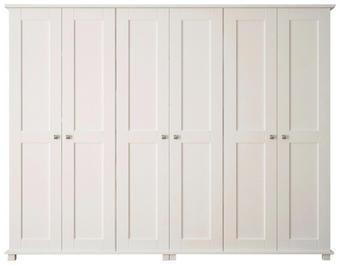KLEIDERSCHRANK 230/190/60 cm - Weiß, Basics, Holz/Holzwerkstoff (230/190/60cm) - Hom`in