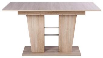 ESSTISCH Eichefarben - Eichefarben, Design (140/180/90/75cm) - Carryhome