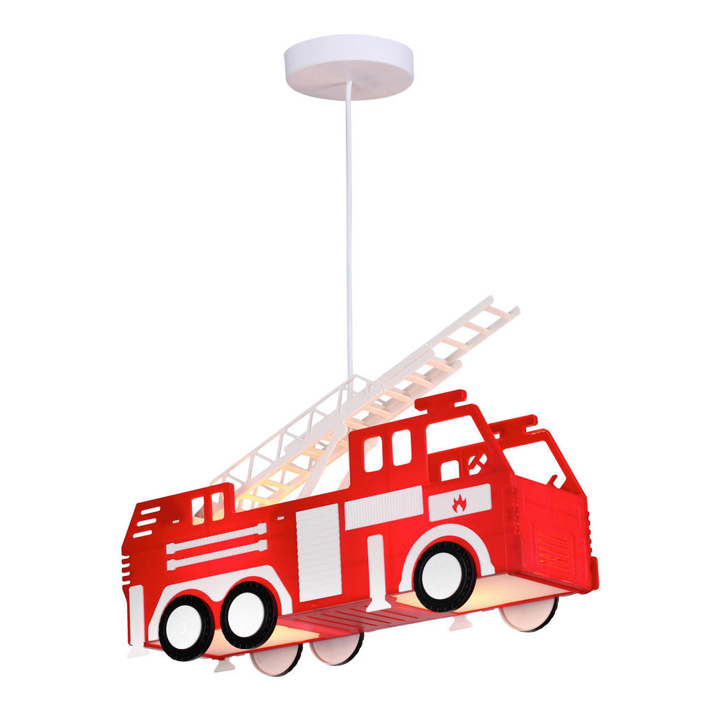 Kinderhängeleuchte 'Feuerwehrauto'