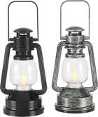 LED-DEKOLEUCHTE - Schwarz/Grau, Basics, Kunststoff (8/15/7cm) - Ambia Home