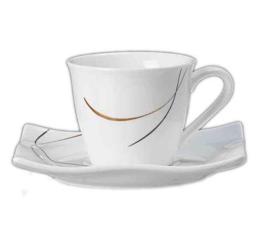 PODŠÁLEK NA ESPRESSO, porcelán (new bone china) - bílá, Design (12/12/2cm) - Ritzenhoff Breker