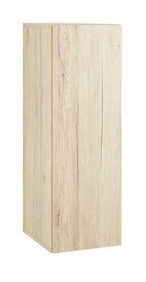 VÄGGHÄNGT SKÅP - ekfärgad, Design, träbaserade material (30/90/34cm)