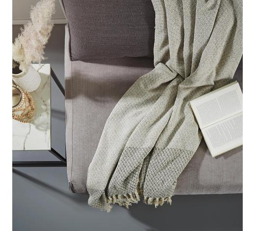 PLAID 170/240 cm Grau  - Grau, LIFESTYLE, Textil (170/240cm)